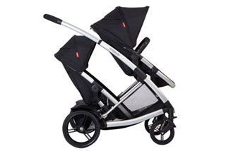 Six double prams: rides built for two