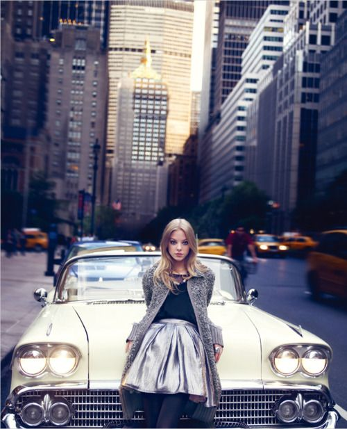 Cities Style, Big Cities, Full Skirts, New York Cities, Classic Cars, Vintage Cars, Ny Style, The Cities, Cities Life