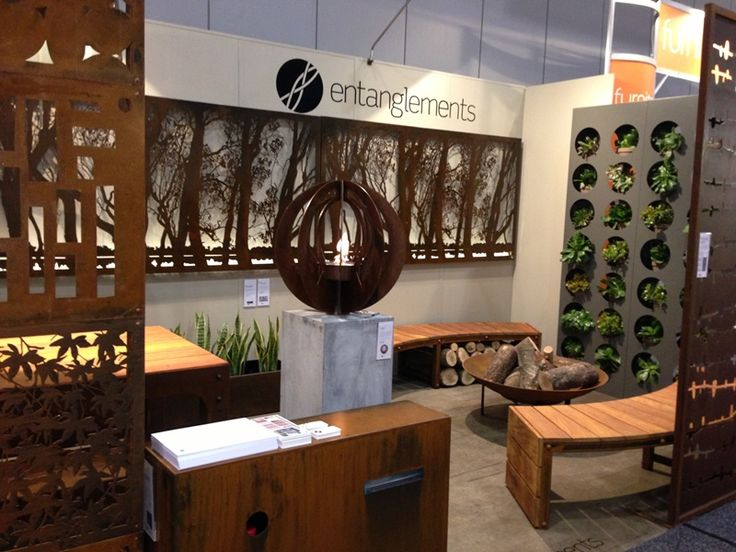 The Murray rustic wall art features on our Decoration + Design exhibition in Melbourne 2013