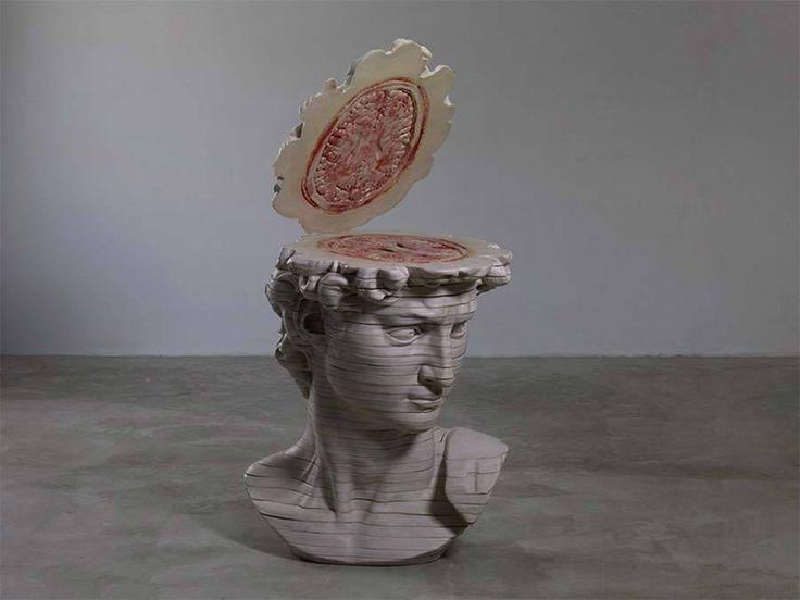 Anatomische Kunst von Cao Hui: https://www.langweiledich.net/kunstskulpturen-in-scheiben/