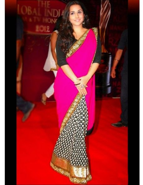 Vidhya Balan In Beautiful Combination Item code : SMBW19