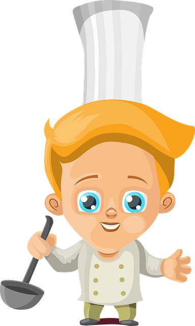 free image on pixabay cook boy cooking kitchen chef kids cartoon - Kids Cartoons Free