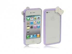 Custodia iphone fiocco