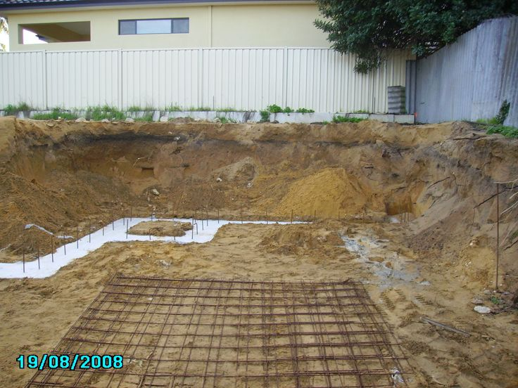 Karrinyup - 2408 - footings and thickening before slab down