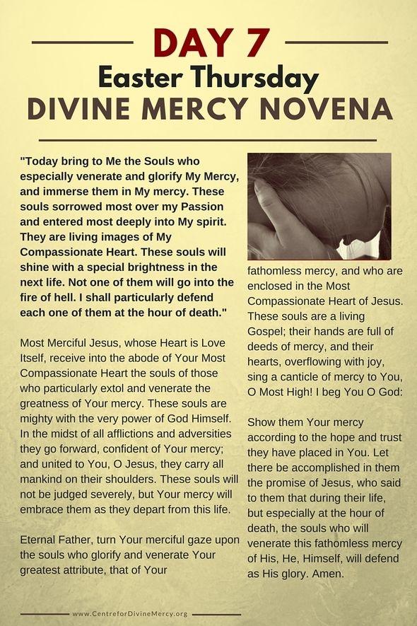 Centre for Divine Mercy :: 9 Day Novena to Divine Mercy :: A Global Virtual  Centre for Divine Mercy | Divine mercy novena, Divine mercy prayer, Divine  mercy