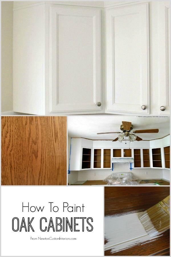 painting oak cabinets on pinterest oak cabinets redo oak cabinet