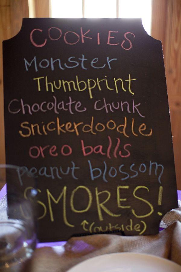 Cookie bar!
