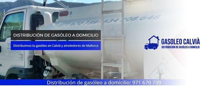 Distribución de Gasóleo a Domicilio en #Calvia, #Mallorca.