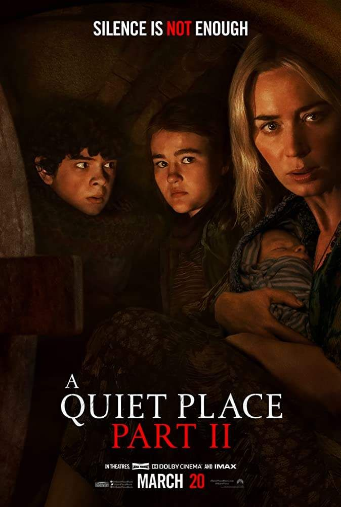 A Quiet Place 2 2020 Horror Thriller Dir John Krasinski New Movies To Watch A Quiet Place Movie Full Movies Online Free