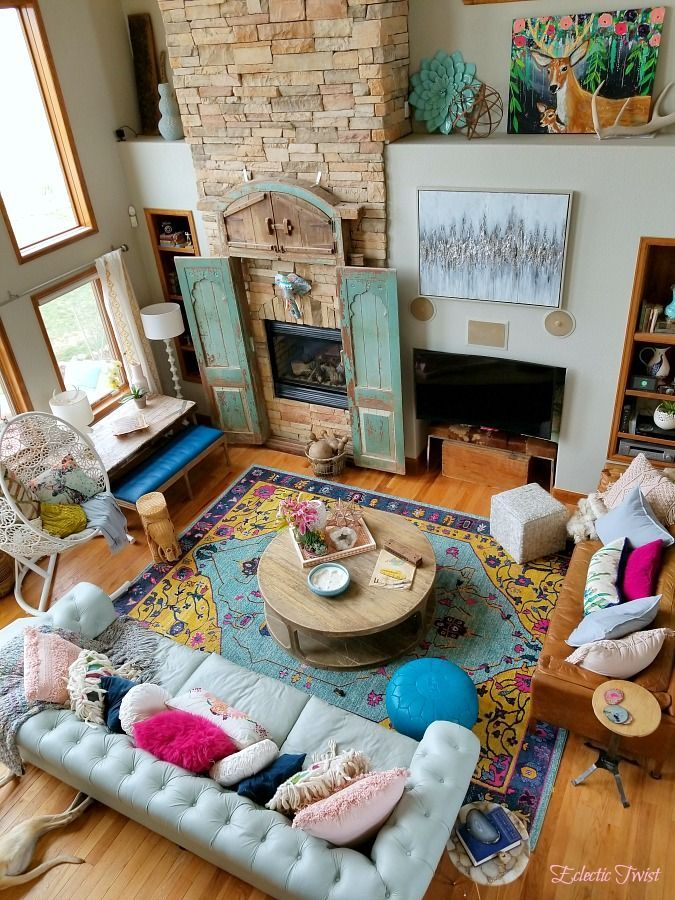 3 Tips To Mixing Patterns In Your Decor Mixing Patterns Like A Pro Home Decor Interior Design Using Patt Family Room Decorating Funky Home Decor Home Decor