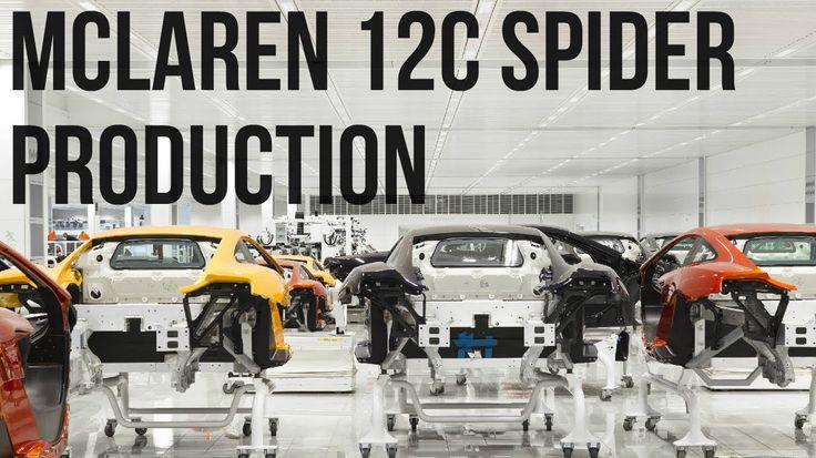 КАК ЭТО СДЕЛАНО | McLaren 12C Spider | СБОРКА АВТОМОБИЛЯ
