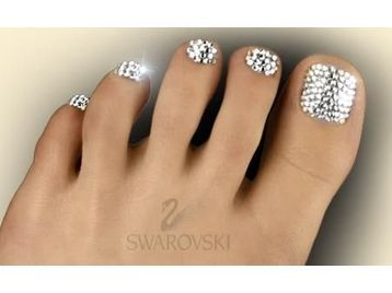 Swarovski Crystal Pedicure! This is my favorite pedicure I have ever had!!!!