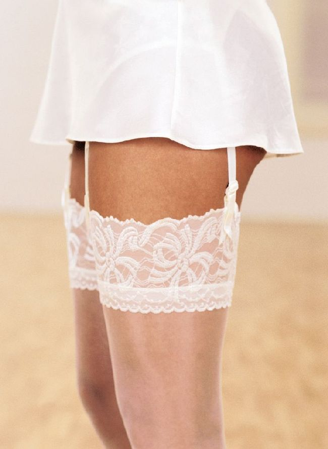 Aristoc Bridal 10 Denier Lace Top Stockings. For a very special day!!