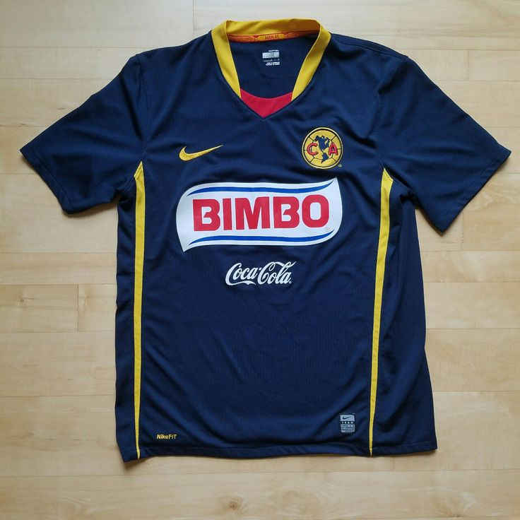 """Nike Mens Club America CA Soccer Jersey - Medium  Brand - Nike Sizing Type - Mens Condition - Pre-owned, but great condition, ready to wear! Material - 100% Polyester Size - M  Measurements (Approximate) - Armpit to Armpit: 19.5"""" Shoulder to Hem: 26"""" Waist:41"""" Shirt is in great condition! No tears, rips, stains. Nike authentication tag on bottom of shirt appears slightly worn (zoom in on the first image), but overall the shirt is in amazing condition.   For more details see th..."""