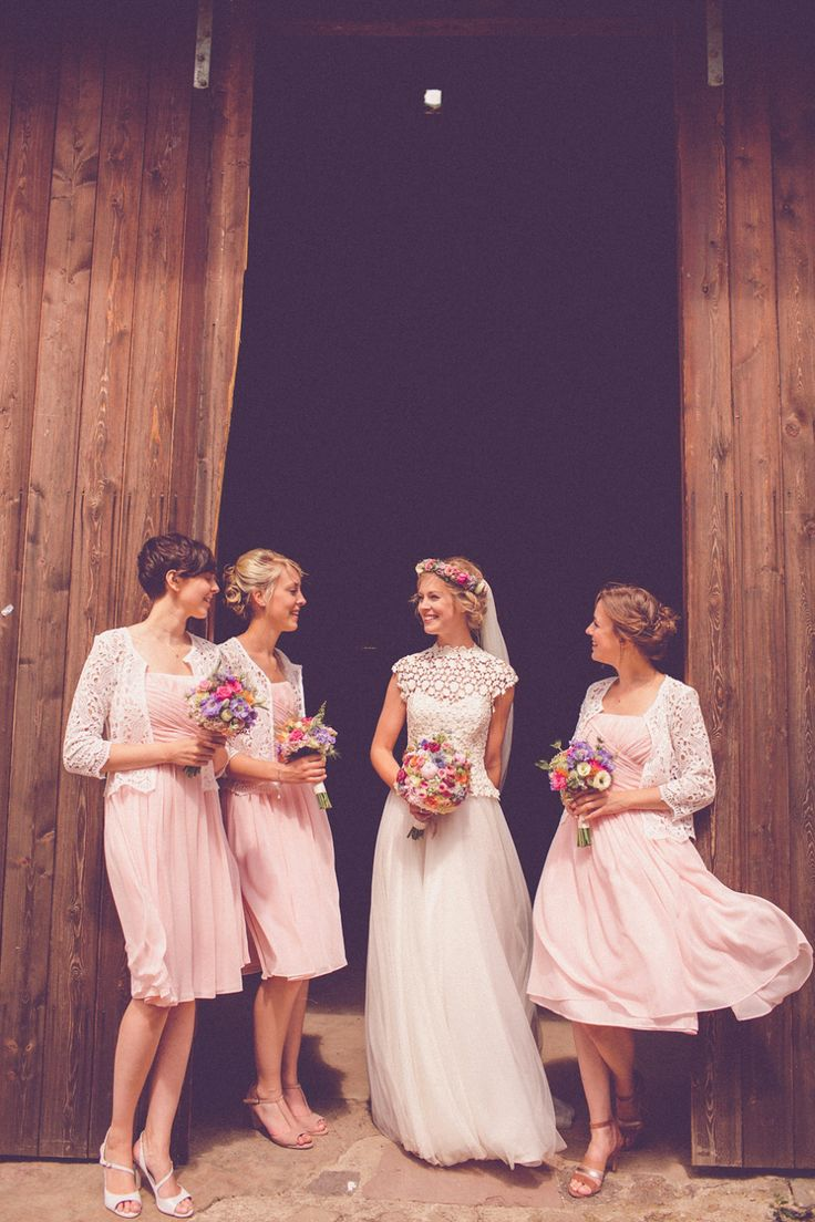 92 best Bride with bridesmaids images on Pinterest | Wedding ...