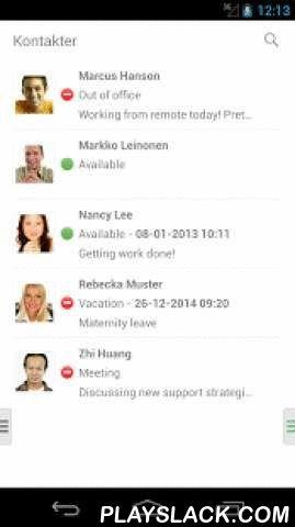 Efftel Max  Android App - playslack.com ,  Efftel Max är en mobil växel som förenklar ditt företags kommunikation! Du får kontroll över din och dina kollegors hänvisning och nåbarhet direkt i mobilen. Du har tillgång till hela företagets kontaktlista var du än är.Koppla samtal i mobilen. Du kopplar nu enkelt ett samtal vidare till någon av dina kolleger.Hänvisa dig enkelt. Du sätter blixtsnabbt din egen hänvisning i en rullgardinslista. Klicka dig på möte, semester, tillgänglig etc.Se dina…