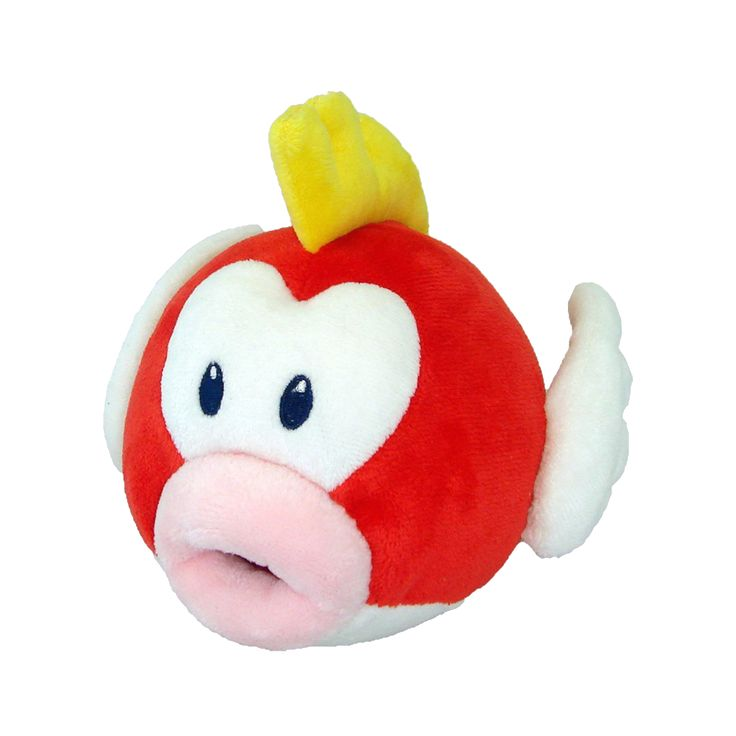 Nintendo - Super Mario Bros. - Cheep Cheep 15.2cm Plush - ZiNG Pop Culture