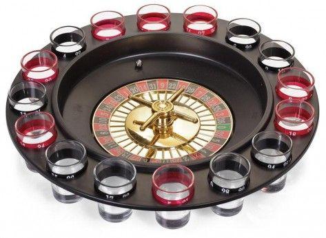 RULETA CU SHOTURI - Mindblower Un set care transforma o adunare cu prietenii intr-o aventura la cazinou. Multe alte cadouri inedite, pe Mindblower.ro