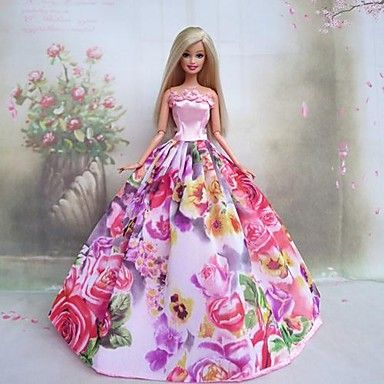 Barbie Ball Gown Design Fashion Dresses