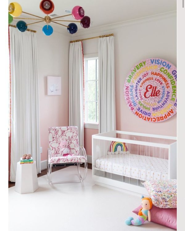paintings nursery colors nursery decor Elle Decor Nursery id=93581