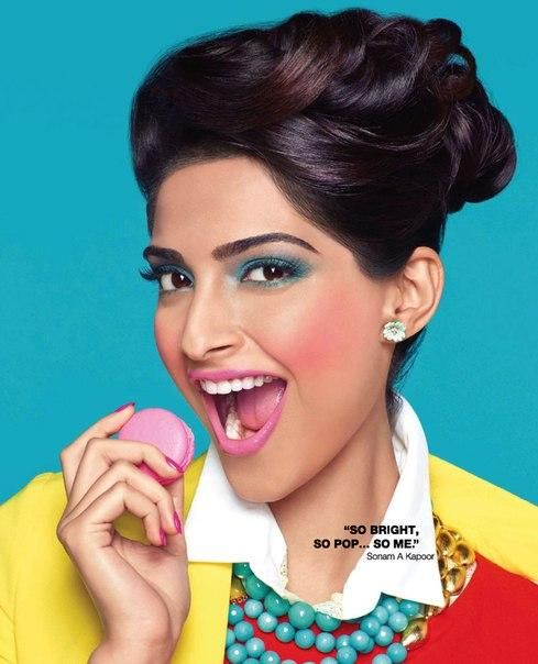 Sonam Kapoor (born 9 June 1985 in the suburb of Chembur, Mumbai) is an Indian actress and model, who appears in Bollywood films. Her father is Indian film actor Anil Kapoor and mother is ex model Sunita Kapoor. She is the niece of producer Boney Kapoor and actor Sanjay Kapoor. Producer Mona Shourie Kapoor and actress Sridevi are her aunts. She is also the first cousin of actor, Arjun Kapoor and cousin of actor Ranveer Singh on her mother's side.