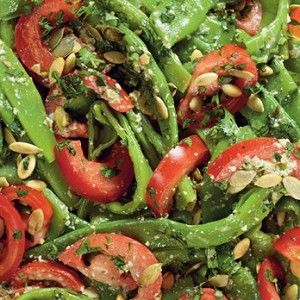 Самое главное в этом салате – не переварить фасоль