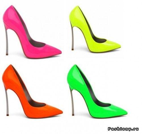 Неоновые цвета - тренд 2013