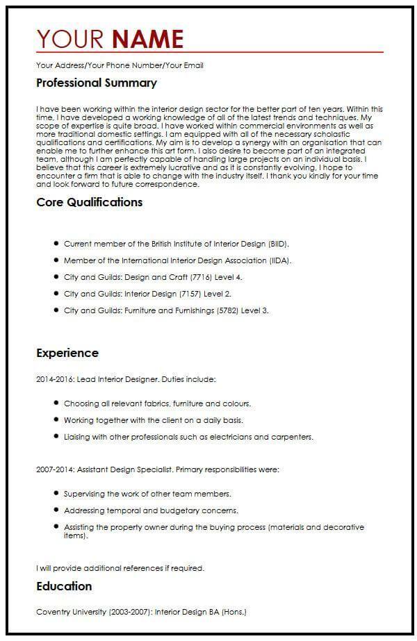 Cv Resume Example Pdf In 2021 Cv Examples Resume Examples Teacher Resume Template