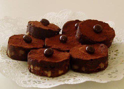 Kávové brownie