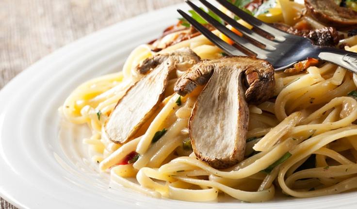 pasta con i funghi #food #italy #tipical #veneto http://www.venetoesapori.it/it/protagonista/da-cirillo