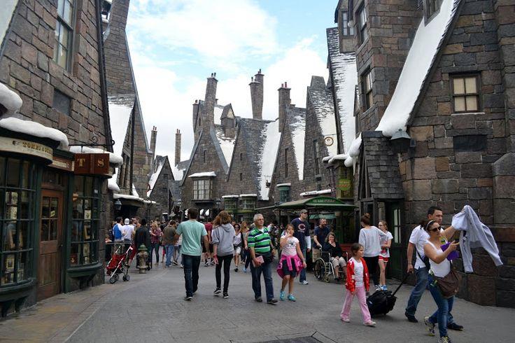 """Hogwarts. Universal Studio. Islands of Adventure (Развлекательный парк """"Острова Приключений"""" студии Юниверсал)"""