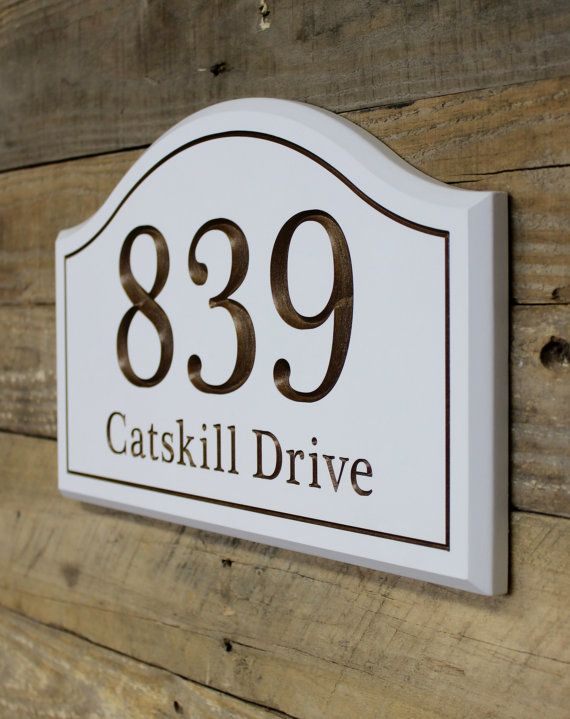 Exterior Paint On Ceramic Number Plaque