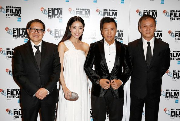 Donnie Yen and Michelle Bai Photos Photos - Albert Lee, Michelle Bai, Donnie Yen and Teddy Chan attend the red carpet arrivals of 'Kung Fu Jungle' during the 58th BFI London Film Festival at Empire Leicester Square on October 12, 2014 in London, England. - 'Kung Fu Jungle' Premiere