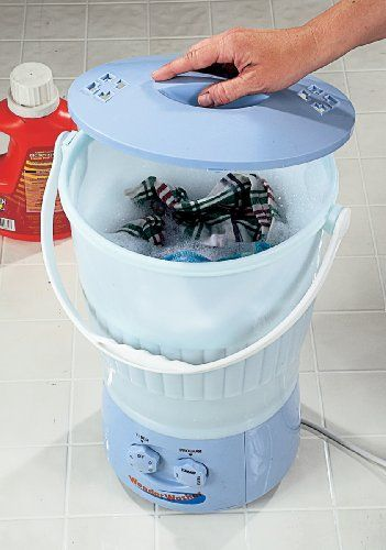 Wonder Washer - a mini washing machine perfect for apartments and other small spaces.