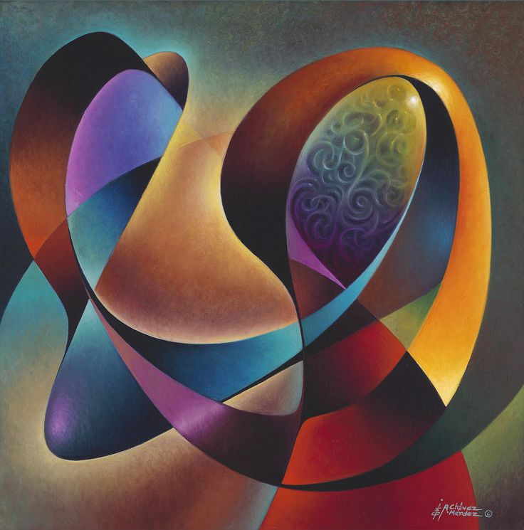 Dynamic Series #13 Painting  - Dynamic Series #13 Fine Art Print
