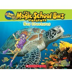 """""""The Magic School Bus Presents: Sea Creatures"""" is a photographic nonfiction companion book to the original bestselling title,…"""