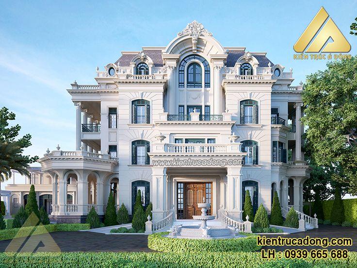 Mẫu thiết kế biệt thự cổ Lào Cai sang trọng và đẳng cấp http://www.kientrucadong.com/mau-biet-thu-56.html