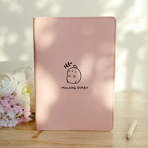 molang diary ver 3 undated planner journal scheduler