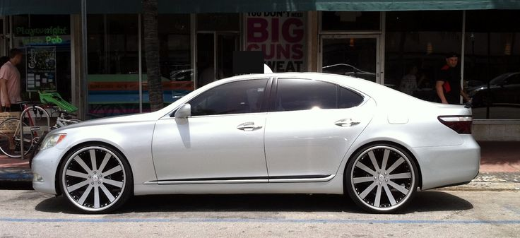 Lexus LS 460 Custom Wheels Find the Classic Rims of Your Dreams - www.allcarwheels.com