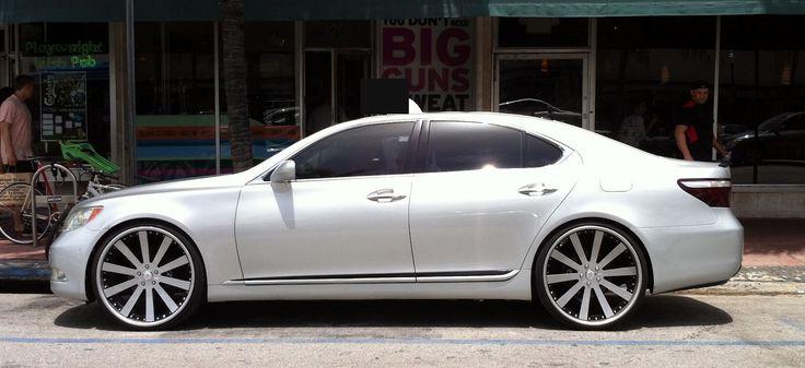 Lexus LS 460 Custom Wheels Find the Classic Rims of Your Dreams - www.allcarwheels.com