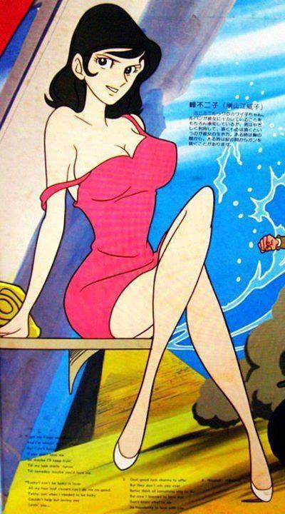 Fujiko from the Lupin anime