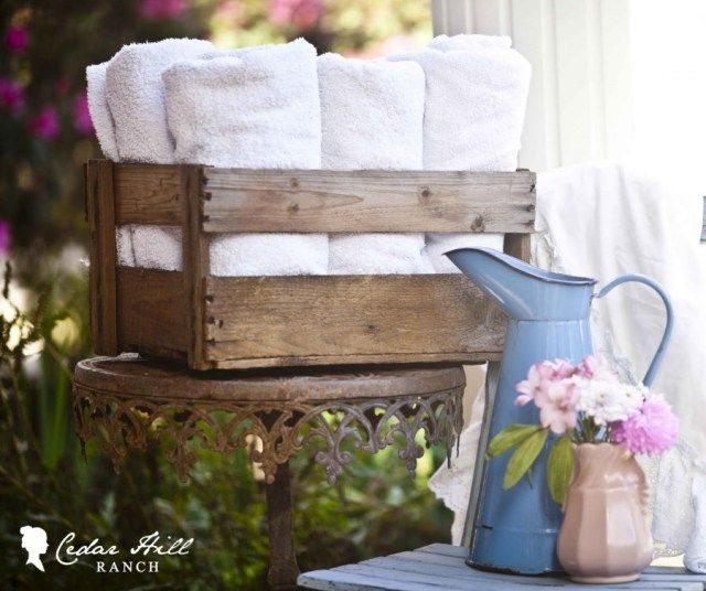 DECORATING WITH VINTAGE CRATES GUEST POST