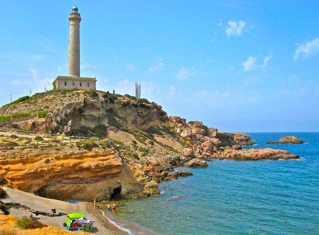 Cabo de Palos, Murcia, Spain. This is where I spend my summers with my familia española <3