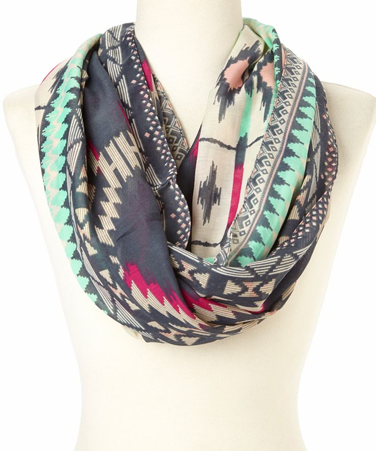 Tribal Infinity Scarf ... i should have gotten this color too..