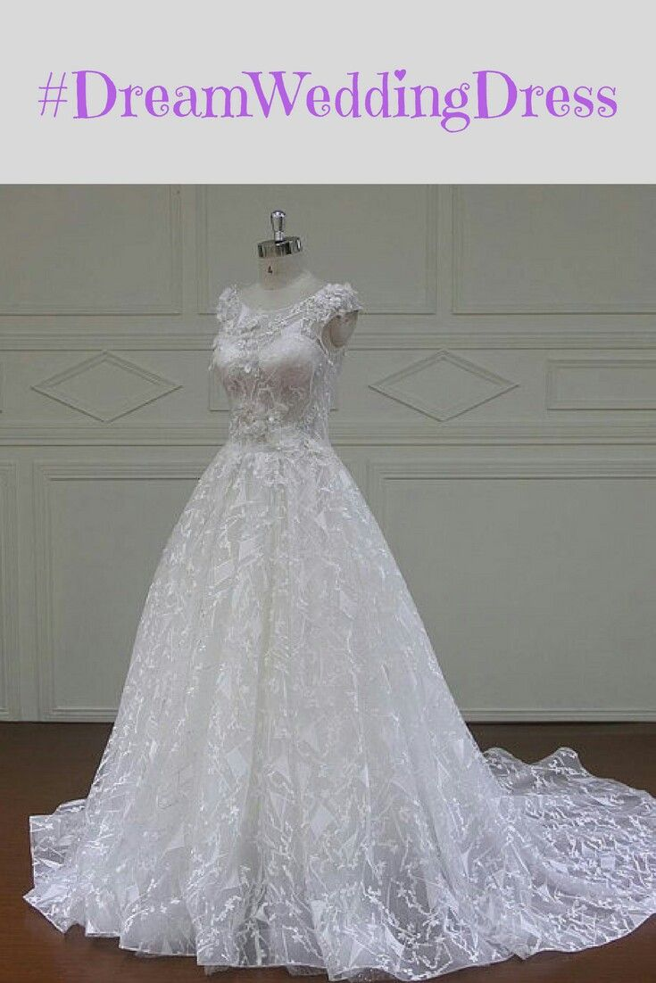 Shiny ball gown wedding dress design ad fashion pinterest