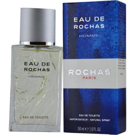 Eau de Rochas Eau de Toilette Natural Spray for Men, 1.6 fl oz
