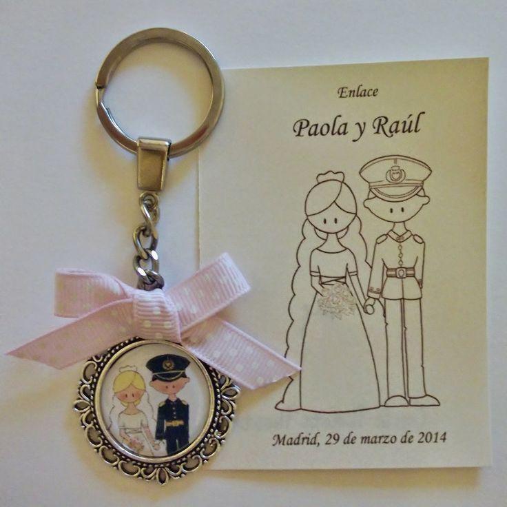 Con el Velo Puesto.  Una idea muy original para regalar a tus invitadas el día de tu boda! Totalmente personalizado!
