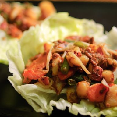 Tons of Daniel Fast Recipes - Make It Your Way Lettuce Wraps