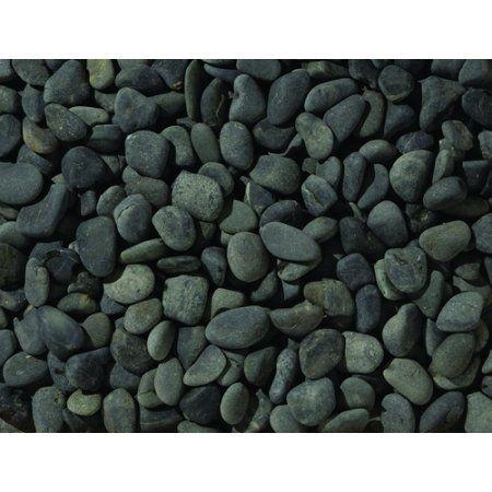 25 KG Beach pebbles 40-60mm zwart - Split En Grind Kopen?   Terrasbestrating.nu - Terrasbestrating.nu: Goedkope sierbestrating bezorgd in heel Nederland!