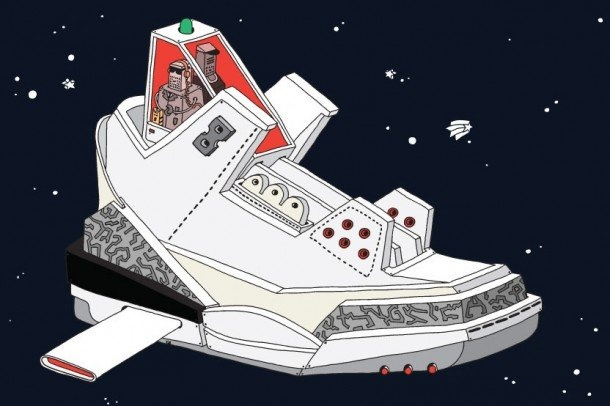 Romanian-based artist, Ghica Popa, creates the Space Sneaker Project--a collection of illustrations of Nike-inspired spaceship designs.
